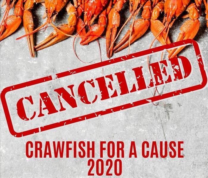 Crawfish picture with event title
