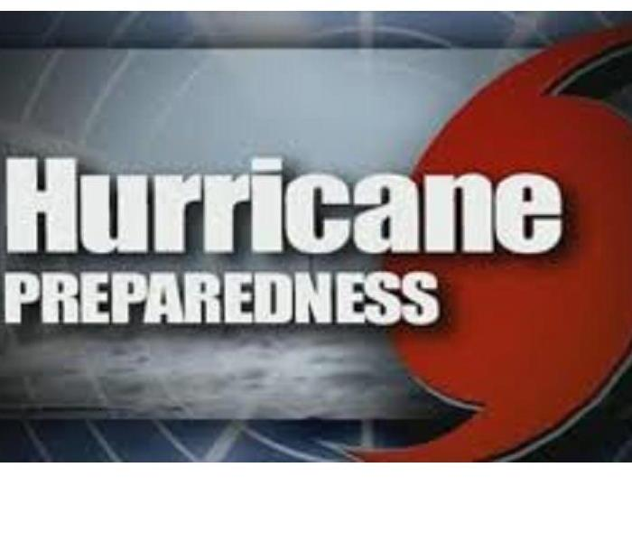 graphic w/ words hurricane preparedness